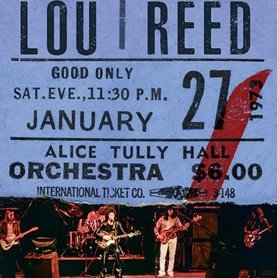 Lou Reed – Live At Alice Tully Hall – January 27th 1973 (2nd Show)