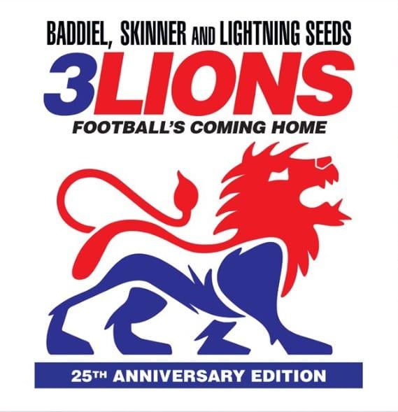 Baddiel, Skinner & Lightning Seeds – 3 Lions 96/98 (25th Anniversary)