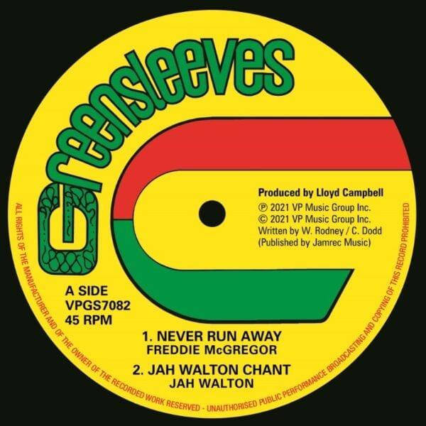 Freddie McGregor – Never Run Away