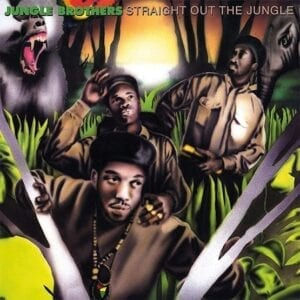 Jungle Brothers – Straight Out Of The Jungle / Black Is Black