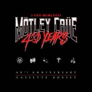 Mötley Crüe – 40th Anniversary Exclusive Boxset