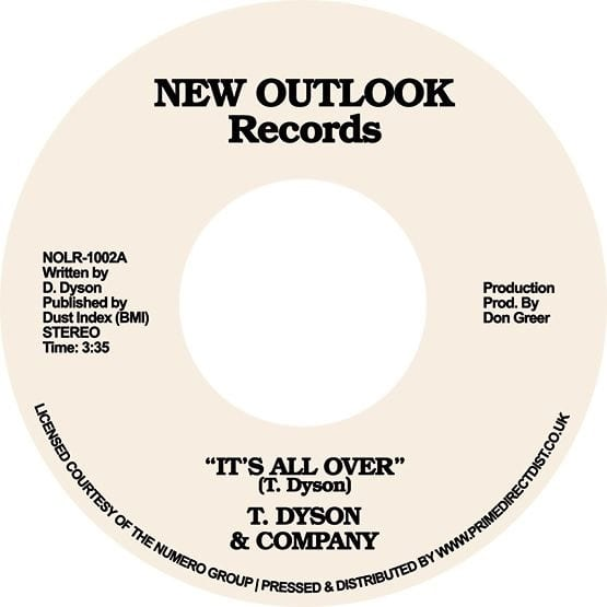 T Dyson & Company – It's All Over / First Time