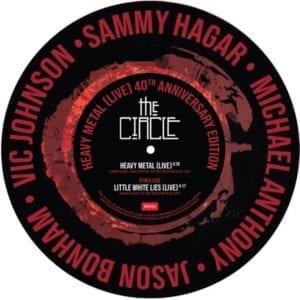 Sammy Hagar – Heavy Metal b/w Little White Lies (Live)