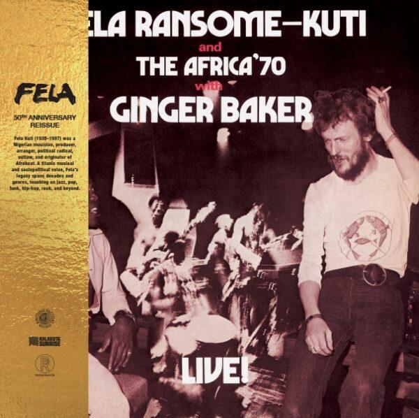 Fela Kuti – Live! With Ginger Baker