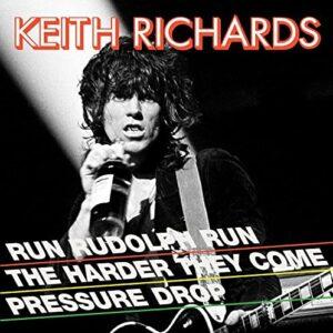 Keith Richards – Run Rudolph Run (Red & Black Splatter 12″ Vinyl)